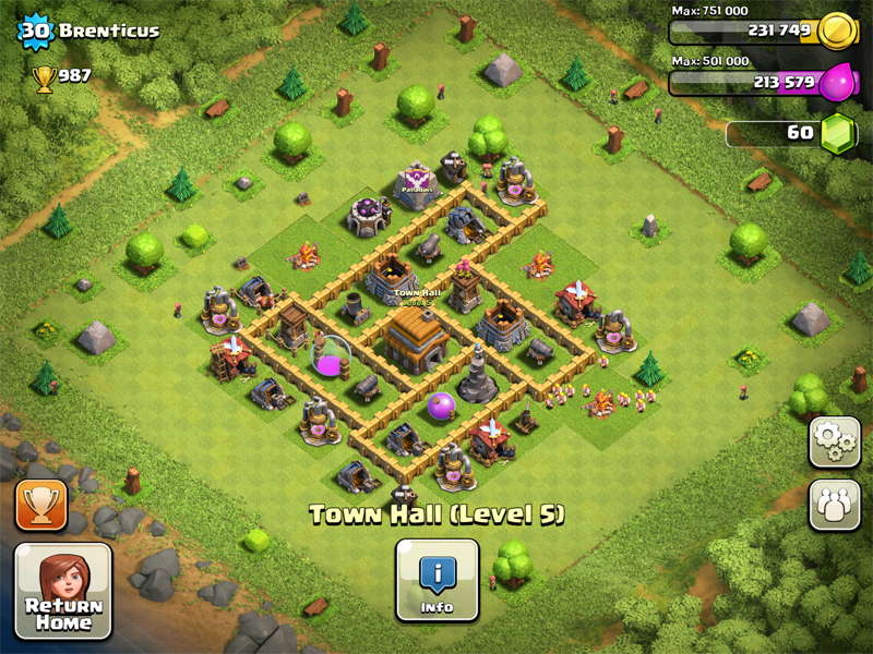 Town Hall Layout 8-9